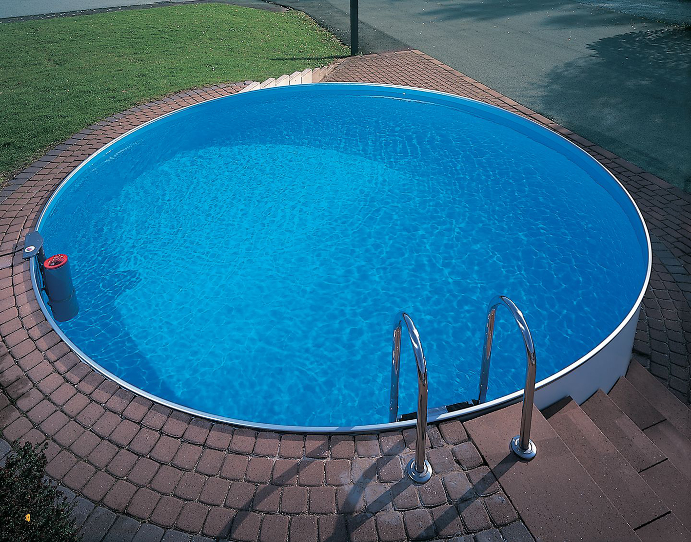 Как сделать круглый бассейн